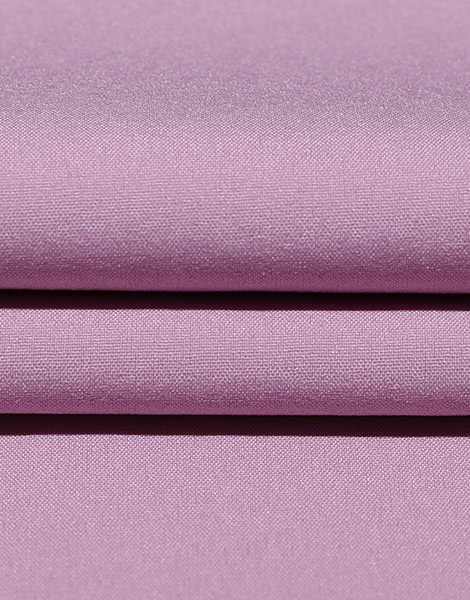 Pink 50D plain weave polyester stretch fabric