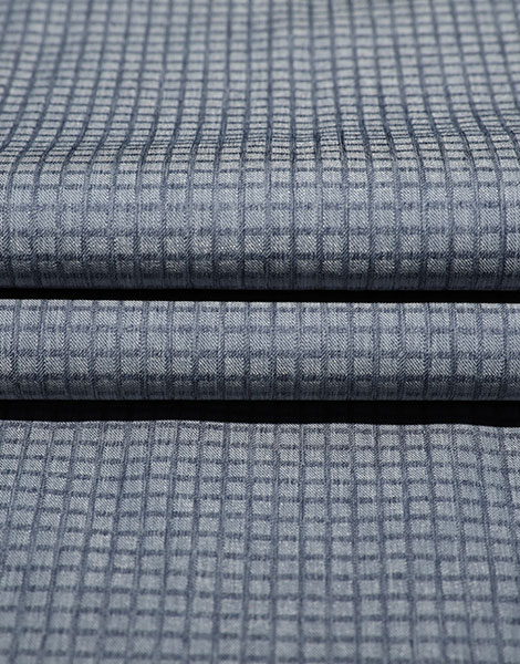 Plaid custom Heather effect stretch fabric YSB828(Yang Di Luo Zige)