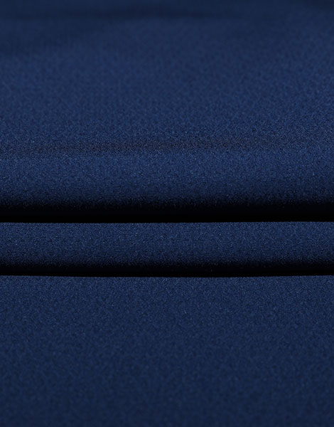 Blue custom Polyester stretch Fabric YSA735