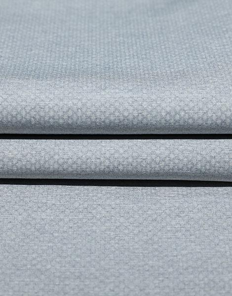 Non-crease Heather effect stretch fabric YSB829A(Cationic honeycomb)