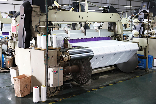 What are the fabric processing techniques